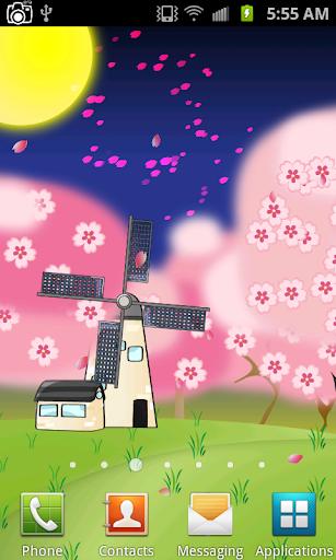 Sakura Love Live Wallpaper