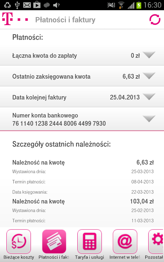 MiBOA - screenshot