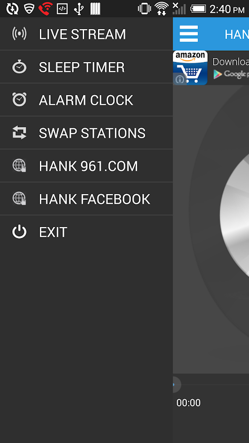 HANK 96.1 FM- screenshot