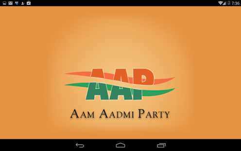 Aam Aadmi Party(AAP)- screenshot thumbnail