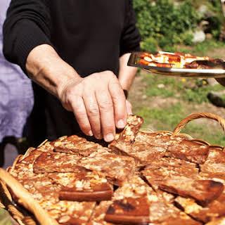 Torta Pisticcina (Chestnut Flour Tart).