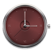 Iron Red - Clock Widget