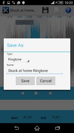 MP3 Cutter Ringtone Maker Free 5 screenshot 44671