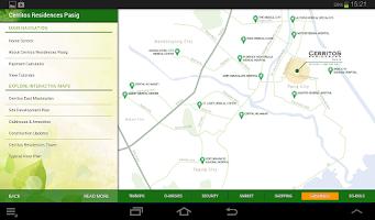Screenshot of Cerritos Residences Pasig