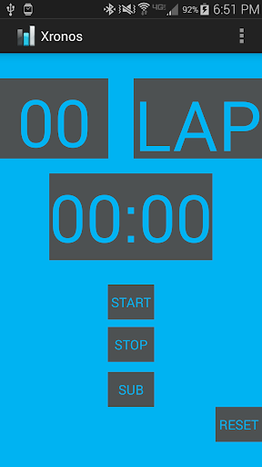 Xronos Chronometer Stopwatch