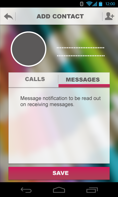Infoner - missed call app- screenshot