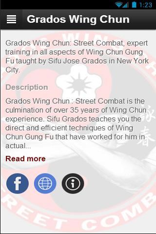 Sifu Grados Wing Chun