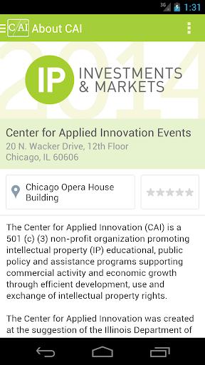 Center for Applied Innovation
