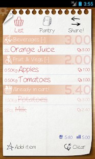 Shopping List - ListOn Free - screenshot thumbnail