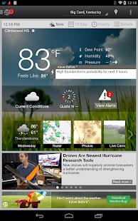 WeatherBug - Forecast & Radar Screenshot 34