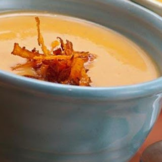 Red Curry Sweet Potato Soup.