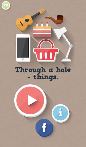 通過一個洞 - 東西 玩解謎App免費 玩APPs