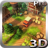 Cartoon Farm 3D Live Wallpaper