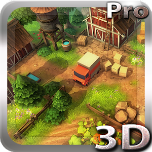 download Cartoon Farm 3D Live Wallpaper apk