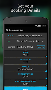 Addison Lee – London Minicabs - screenshot thumbnail