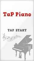 Screenshot of Tap Piano