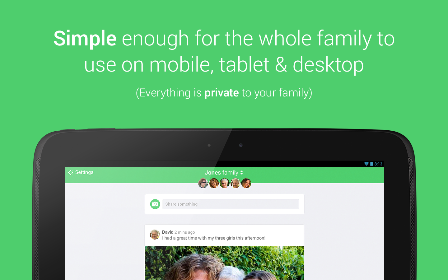 Togethera: Share Family Photos - screenshot