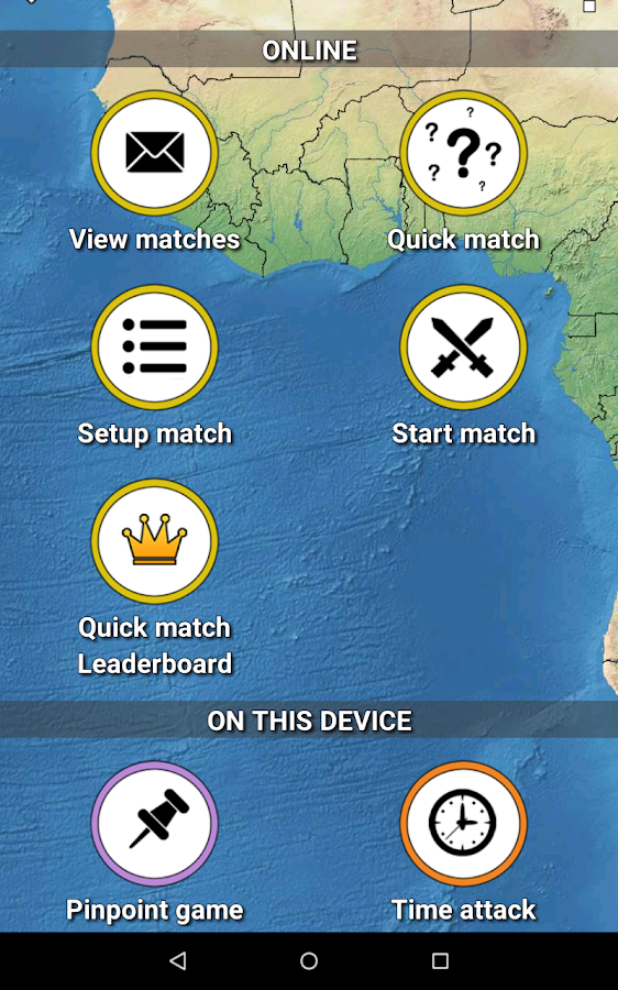 MapMaster - Geography game- screenshot