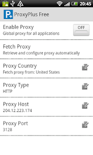 ProxyPlus Free- screenshot thumbnail