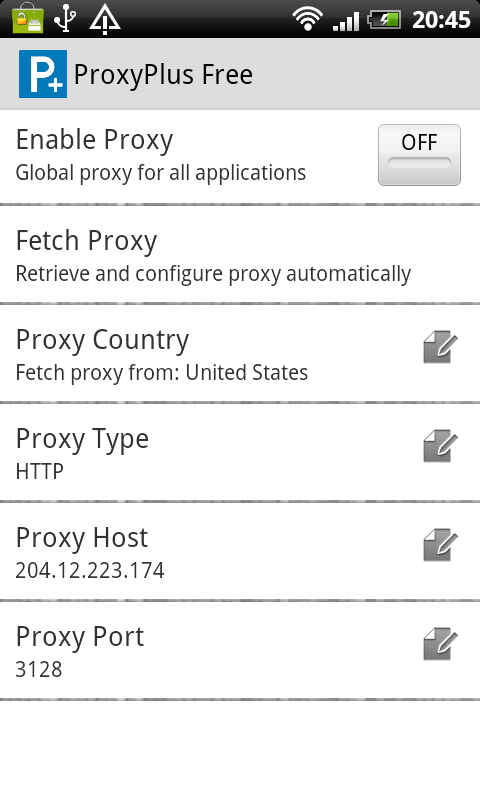 ProxyPlus Free- screenshot
