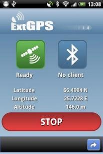ExtGPS - screenshot thumbnail