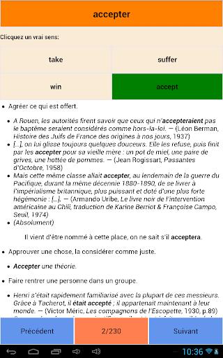 玩免費教育APP|下載Top 600 French words app不用錢|硬是要APP
