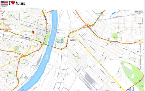 【免費交通運輸App】St Luis maps-APP點子