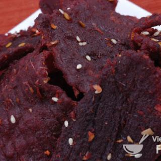 Vietnamese Beef Jerky Recipe (Thit Kho Bo)