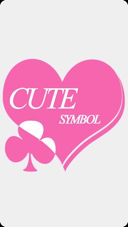 Cute Symbols - Emoji Keyboard♤ 1.4 screenshot 157393