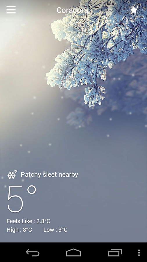 DEFAULT DYNAMIC 3.0 GO WEATHER- screenshot