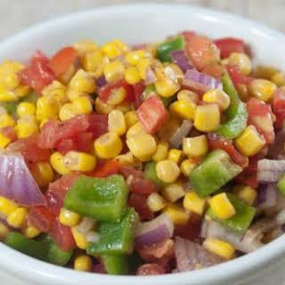 Corn Capsicum Salad Recipes.