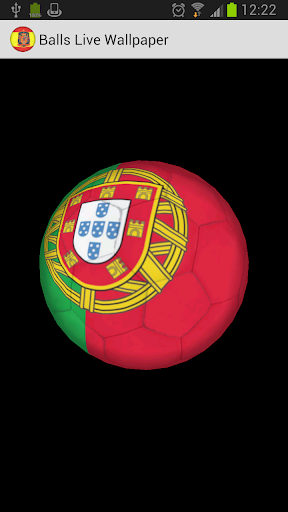 3D Ball Portugal LWP