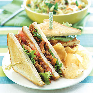 Barbecue Chicken Sandwiches