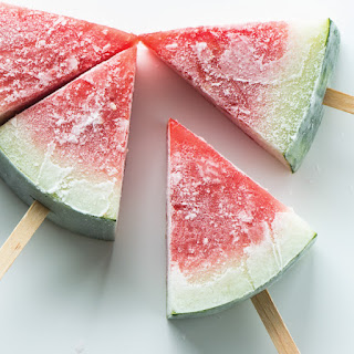 Frozen Watermelon Popsicles