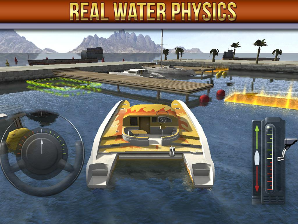 3D Boat Parking Simulator Game - Google Play Store revenue ...