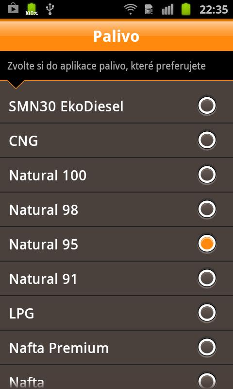 Český Benzín- screenshot