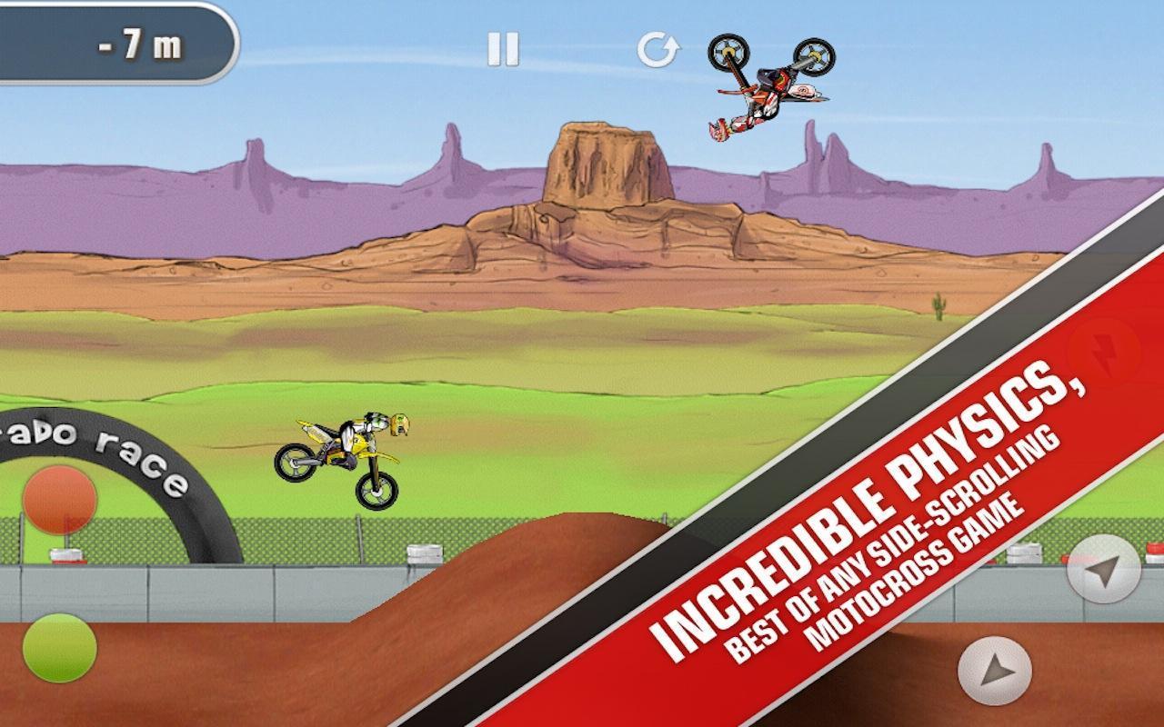 Mad Skills Motocross screenshot #10