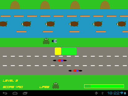 Crazy Frog - Road Jump Free - screenshot thumbnail