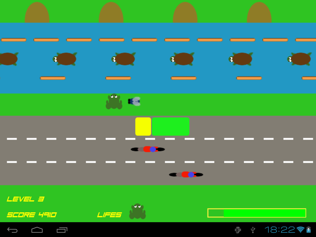 Crazy Frog - Road Jump Free - screenshot