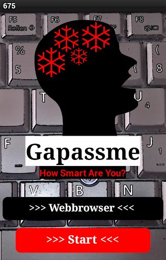 Gapassme - Brain Game