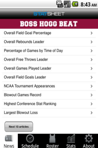 Arkansas Football & Basketball - screenshot