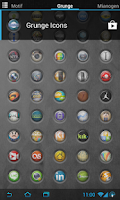 Screenshot of [Icons] Grunge Icons Pack