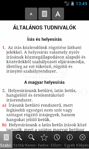 Rules of Hungarian Orthography