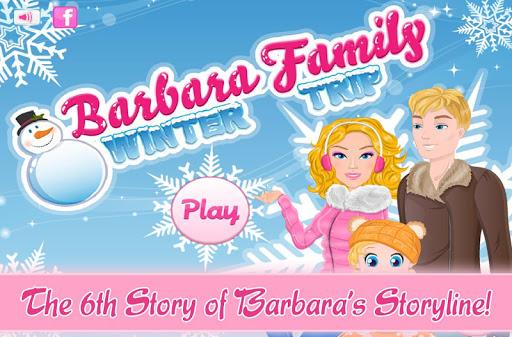Barbara's Family Winter Trip