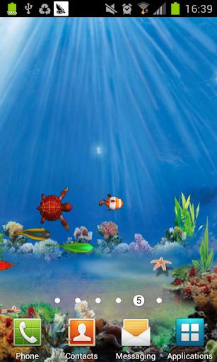 3D 深海鱼动态壁纸