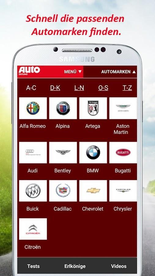 AUTO ZEITUNG - autozeitung.de- screenshot