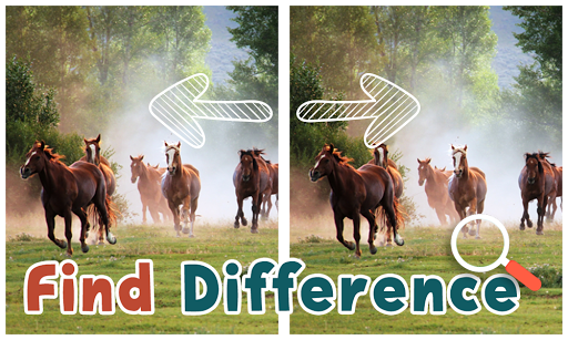 Find Differences Horses