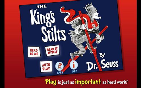 The King's Stilts - Dr. Seuss - náhled