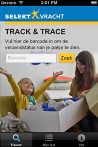 Selektvracht Track and Trace