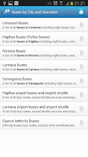 Cyprus By Bus Lite- screenshot thumbnail